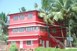 Beach hotel near Tarkarli