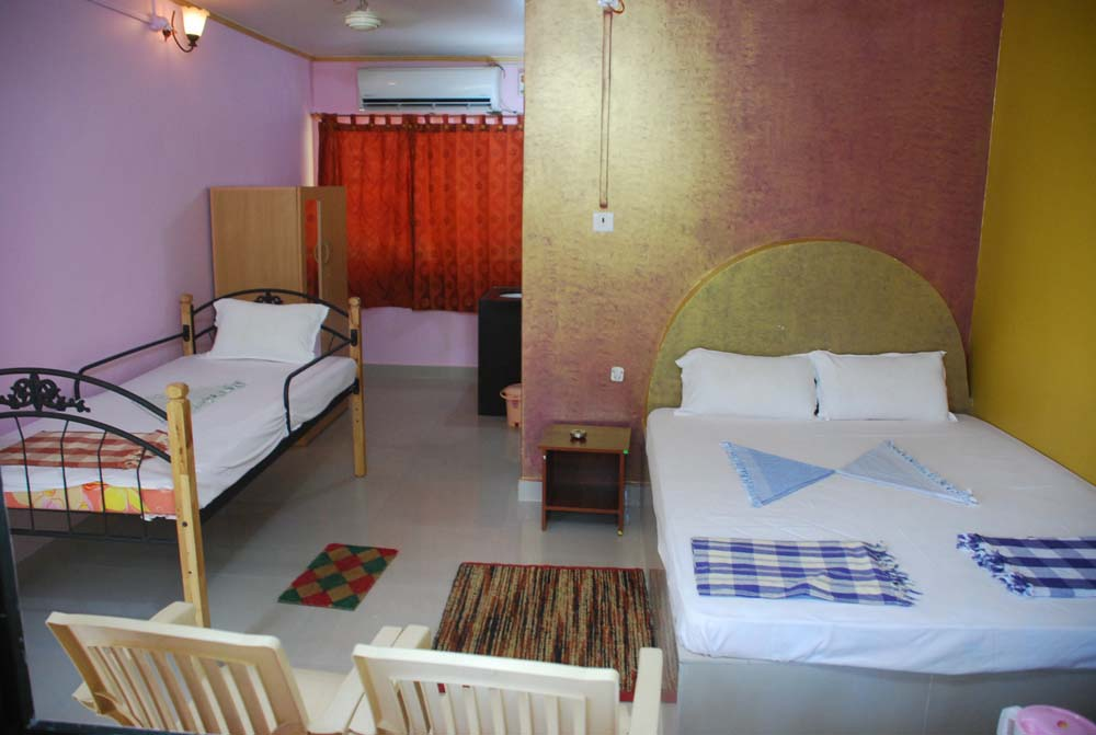 Room Interior - Hotel Malvan Beach